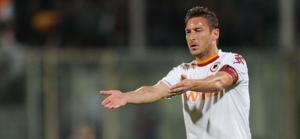 Francesco Totti, 36 anni, 12 gol in campionato. Ansa