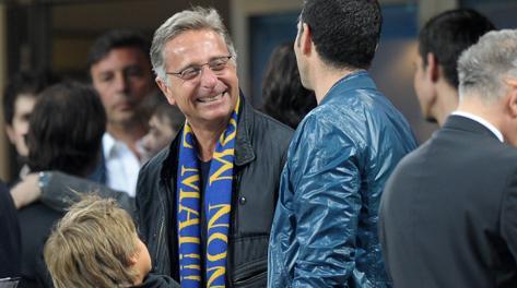 Paolo Bonolis, grande tifoso dell'Inter. LaPresse