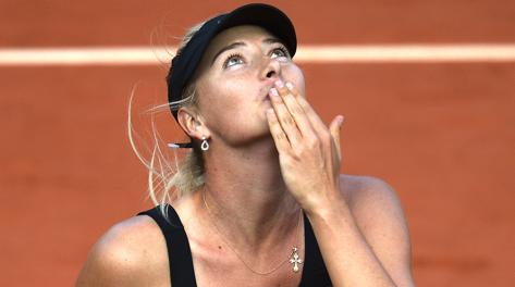 Maria Sharapova, 26 anni e quattro Slam in carriera. Afp