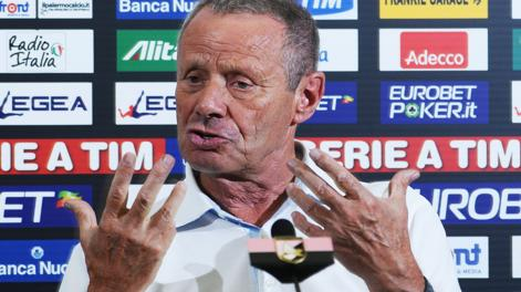 Maurizio Zamparini, 71 anni. Ansa