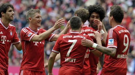 Altra giornata di festa per il Bayern a Monaco. Afp