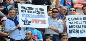 I tifosi si aggrappano a Mazzarri e Cavani.