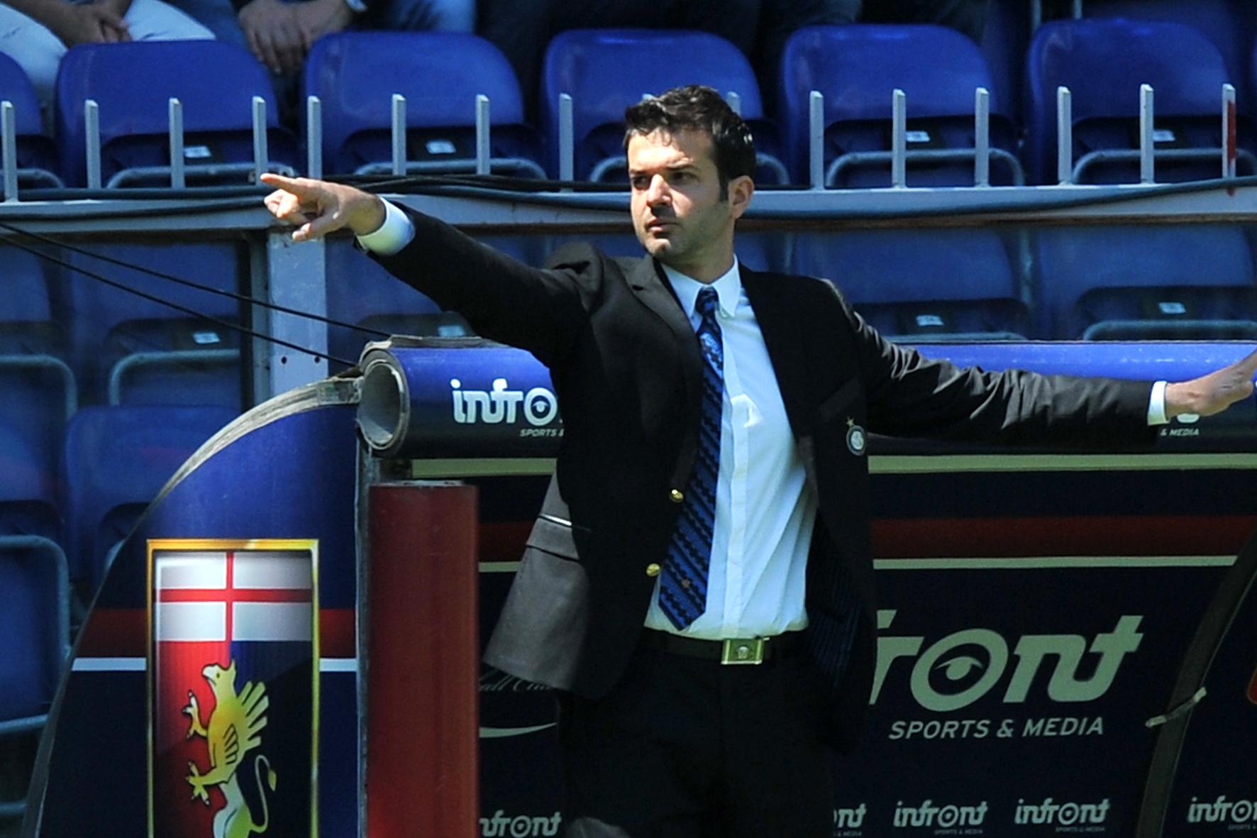 Andrea Stramaccioni, 37 anni, tecnico dell'Inter da oltre un anno. Ap