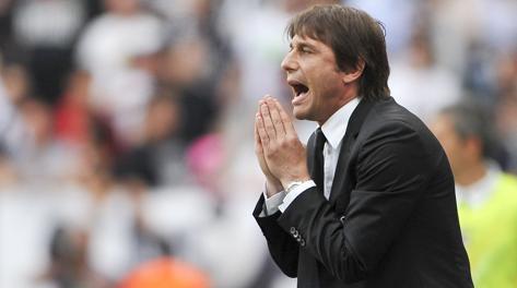 Antonio Conte, tecnico della Juve. LaPresse