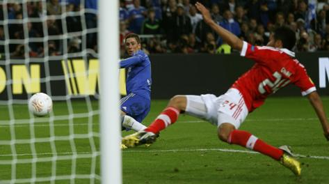 Torres mette dentro l'1-0. Reuters