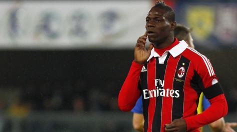 Mario Balotelli, 22 anni, 11 gol in campionato. LaPresse