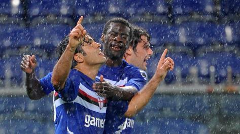 Festa Sampdoria: matata la Juve due volte su due. Ap