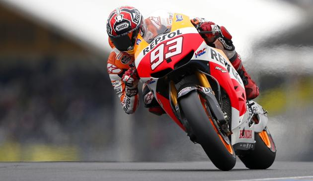 Marc Marquez, 20 anni. Reuters
