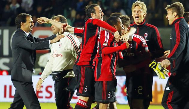 Ultime Notizie: Balo e Mexes all'ultimo respiro /  Foto Milan in Champions tra le polemiche 