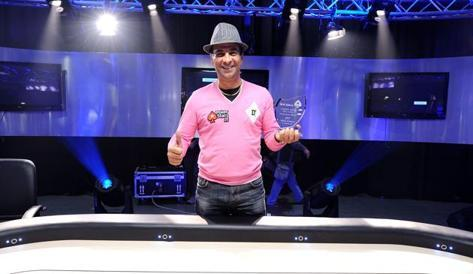 Salvatore Bonavena, vincitore del campionato italiano Omaha. Pokerstars.it