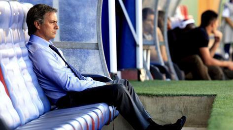 José Mourinho, 50 anni. Ansa