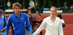 Alex Schwazer e Carolina Kostner. Omega