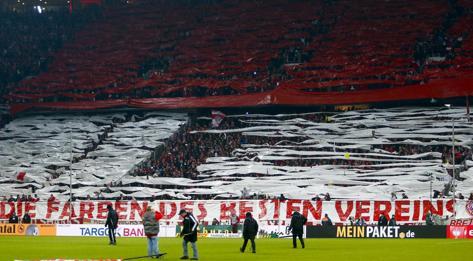 I tifosi del Bayern. Reuters