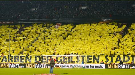 I tifosi del Borussia. Reuters