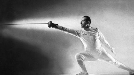 Edoardo Mangiarotti è stato l'atleta italiano più medagliato alle Olimpiadi. Archivio Gasport