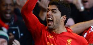 Luis Suarez, attaccante del Liverpool. Afp
