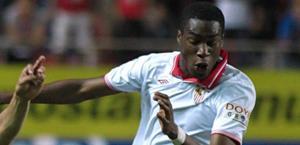 Goeffrey Kondogbia, 20 anni, ultima stagione al Siviglia. Epa