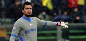 Il portiere della Sampdoria Romero: futuro a rischio. LaPresse