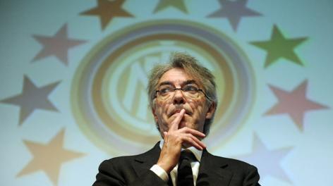 Massimo Moratti riflette. Ansa