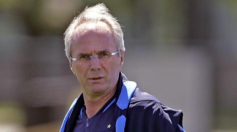 Sven -Goran Eriksson, 65 anni. Afp