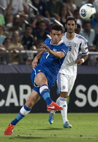 Alessandro Florenzi, autore del gol del definitivo 4-0. Afp