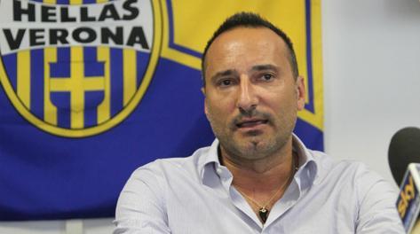 Il presidente del Verona Maurizio Setti, 50 anni
