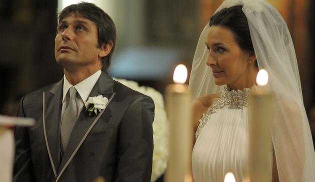 Conte ha sposato Elisabetta: Agnelli, Marotta e Moggi tra ...