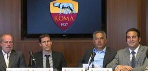 Sabatini, Garcia, Pallotta e Zanzi in conferenza stampa. Marca.com