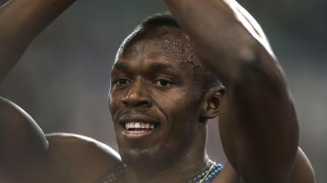 Usain Bolt, 26 anni. Ap