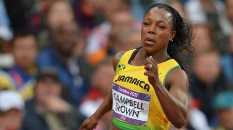 Veronica Campbell Brown, 31 anni, 7 medaglie olimpiche in carriera. Afp