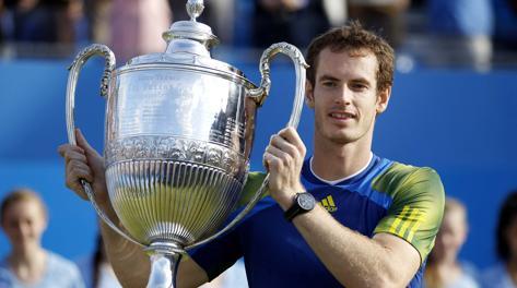 Andy Murray, terzo titolo del 2013. Reuters
