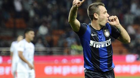 Antonio Cassano, 30 anni. Ansa