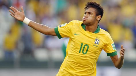 Neymar, a segno anche contro il Messico. Epa