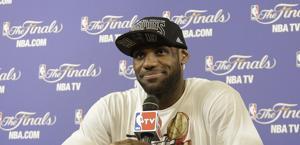 LeBron James. Ap