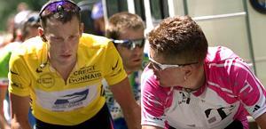Armostrong e Ullrich : dal giallo del Tour alla macchia  del doping.  Ap