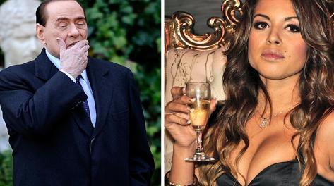 Silvio Berlusconi e Ruby. Afp
