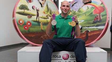 Niccolò Campriani, 25 anni, un oro e un argento olimpico. PlPresse