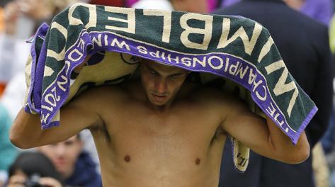 Rafa Nadal, 27 anni. Ap