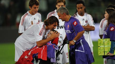 """Borgonovo, il Milan: """"Voleremo con te"""". Baggio: """"Ciao eroe ..."""