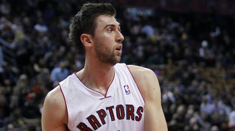 Andrea Bargnani, 27 anni, � a Toronto dal 2006. Usa Today Sports