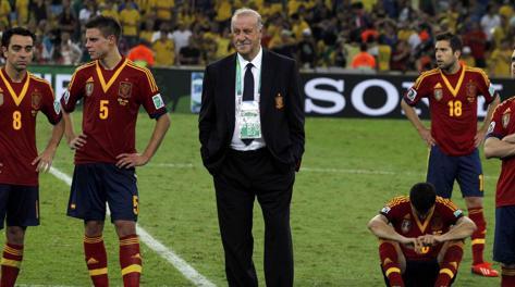Il c.t. della Spagna Vicente Del Bosque. Reuters
