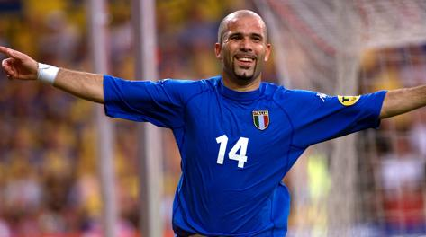Luigi Di Biagio, passato azzurro (31 presenze). Ap