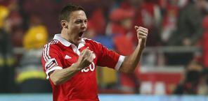 Nemanja Matic, centrocampista del Benfica.  Reuters