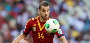 Roberto Soldado, attaccante del Siviglia e della Spagna. Reuters