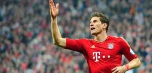 Mario Gomez, 27 anni, 11 gol nella Bundesliga 2012-13.  Epa