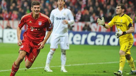 Mario Gomez, 27 anni. Epa