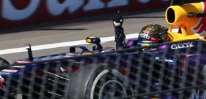 Vettel vince in Germania: non ci era ancora riuscito. Reuters
