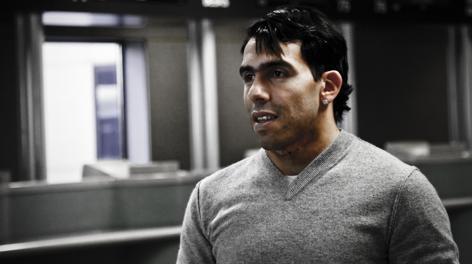Carlos Tevez, 28 anni. LaPresse