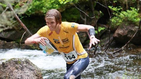 Gustav Bergman, campione svedese di orienteering