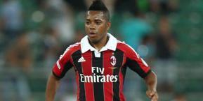 Robinho, attaccante del Milan. LaPresse